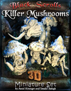 BSG - 3D Killer Mushrooms