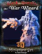 BSG Miniatures - The War Wizard