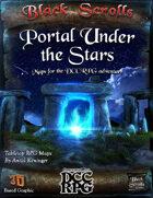 The Portal Under The Stars - Battlemap
