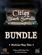 Cities of the Black Scrolls - PRINT [BUNDLE]