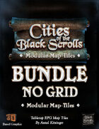 Cities of the Black Scrolls - PRINT - NO GRID [BUNDLE]