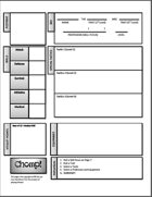 CHOMP! A Survival Horror RPG Character Sheet