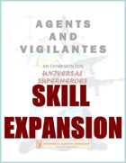 Agents and Vigilantes - Bonus Skill Expansion