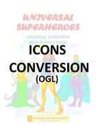 Universal Superheroes: ICONS Conversion (FREE)