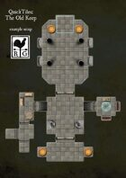 QuickTiles: The Old Keep modular dungeon