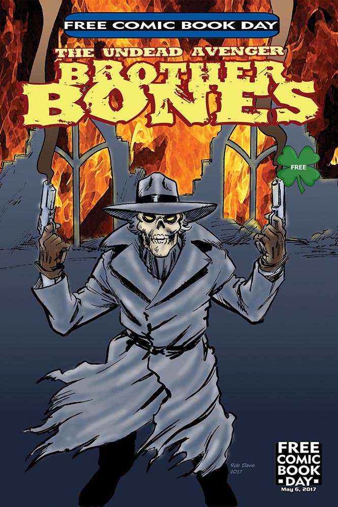 Brother Bones Free Comic Book Day 2017a
