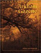 The Arkham Gazette #3