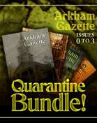 Arkham Gazette Quarantine Special [BUNDLE]