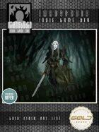 Stock Art - Dark Elf Sword Warrior