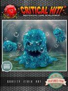 Stock Art - Blue Slimes!
