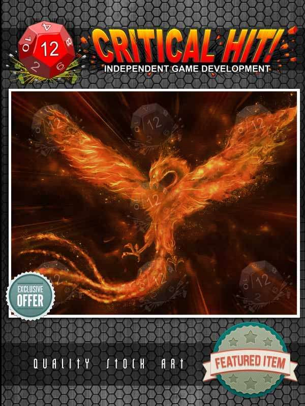 Stock Art - Legendary Phoenix