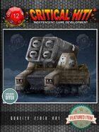 Sci-Fi Stock Art - Missile Tank