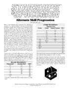 Alternate Skill Progression (Starships & Spacemen 2e)