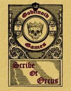 Scribe of Orcus Vol 1 Issue 1