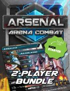 Arsenal: Arena Combat Two-Player Starter Kit [BUNDLE]
