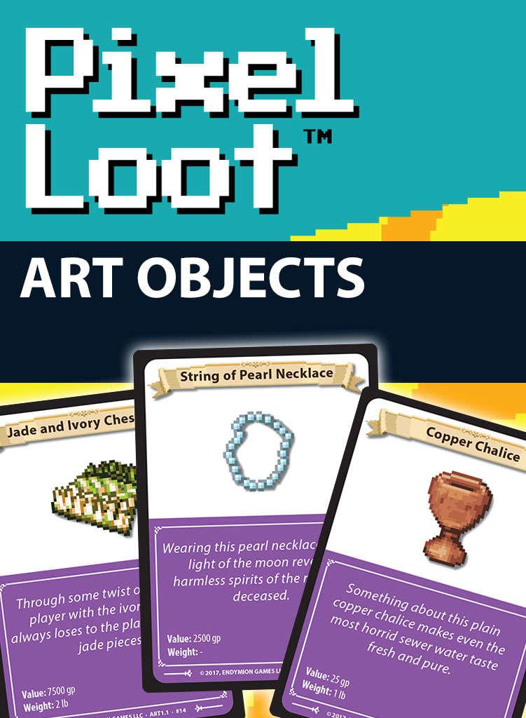 Pixel Loot - Art Objects