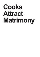 Cooks Attract Matrimony