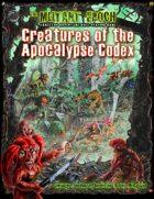 Creatures of the Apocalypse Codex