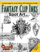 Fantasy Clip Inks:: Spot Art set 3