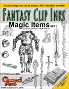 Fantasy Clip Inks:: Magic Items set 1