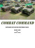 Combat Command - Basic Game