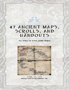 47 Ancient Scrolls, Maps, and Handouts to Spice up Your Game Night
