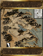 Mystos: The Role Playing Game Realms Map