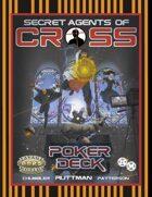 Secret Agents of CROSS Poker Deck (Detailed Background)