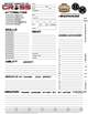 Secret Agents of CROSS Character Sheet (Savage Worlds)