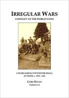 Irregular Wars: Conflict At The Worlds End v1.5 (US Letter)