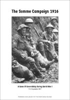 The Somme Campaign 1916