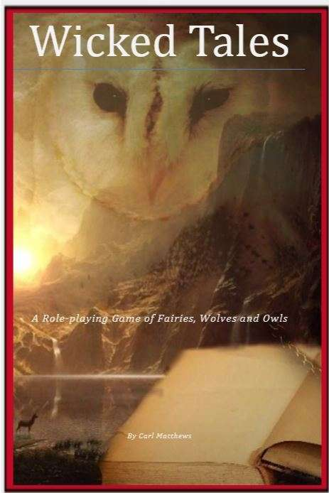 The cover of Wicked Takes depicting an owl.
