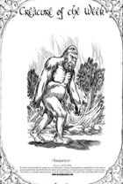 Creature A Week Sasquatch Ecology