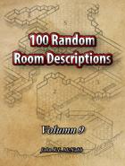 100 Random Room Descriptions Volumn 9