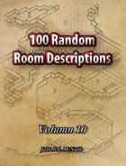 100 Random Room Descriptions Volumn 10