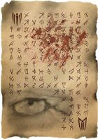 Necronomicon Page 76 Eye of the Zombie (Horror Prop Handout)