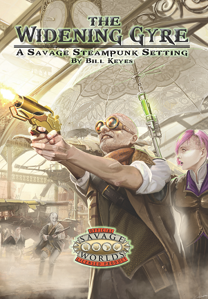 The Widening Gyre: A Savage Steampunk Setting