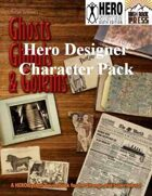 Ghosts Ghouls and Golems Hero Designer Character Pack