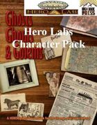 Ghosts Ghouls and Golems Savage Worlds Hero Lab Character Pack