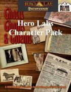 Ghosts Ghouls and Golems Pathfinder Hero Lab Character Pack