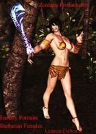 Fantasy Portraits: Barbarian Females