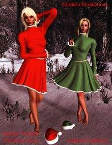 Fantasy Portrait: Christmas Elves