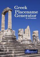 Greek Placename Generator