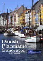 Danish Placename Generator