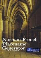 Norman-French Placename Generator