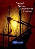 Vessel Name Generator
