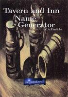Tavern and Inn Name Generator
