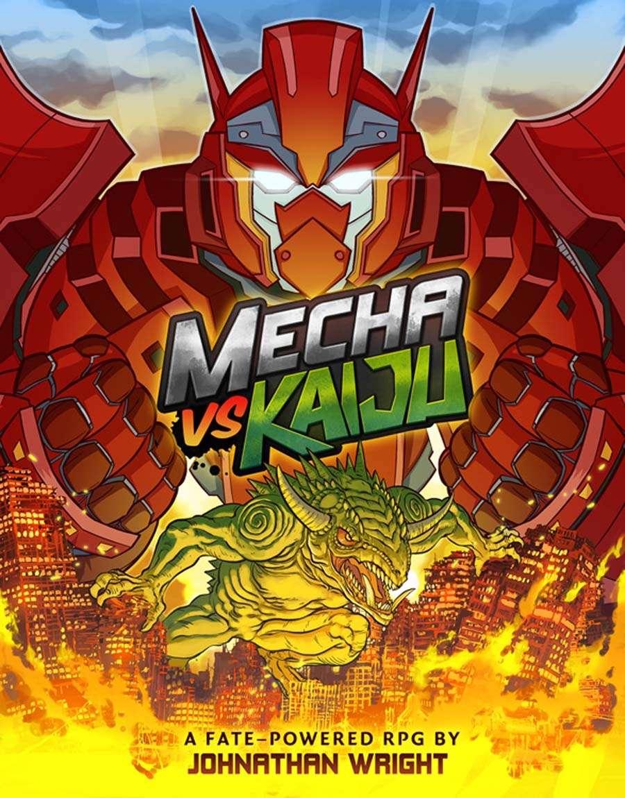 mecha  kaiju  character sheets  fate core wrightwerx drivethrurpgcom
