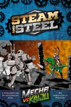Mecha vs Kaiju: Steam and Steel - A Fate Steampunk Supplement