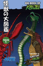 Mecha vs Kaiju: Big Book of Kaiju - Sea (Fate Core)